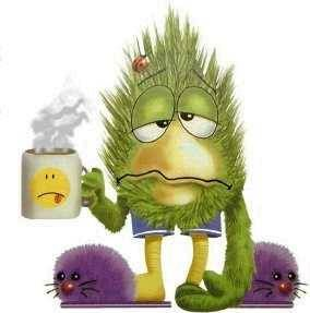 cartoon-sick-and-tired-holding-coffee-mug