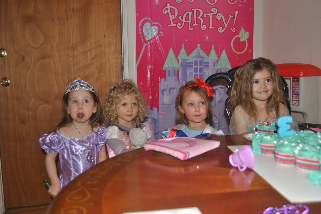 princessess and friends